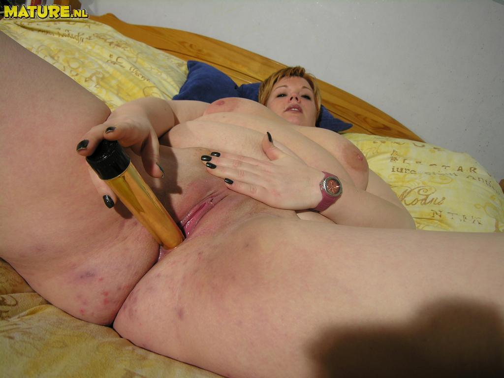 Amateur bbw playing with tied tits dildo titjob blowjob 8